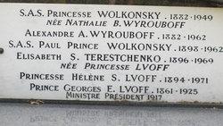 Nathalie Vasilievna <i>Wyrouboff</i> Wolkonsky