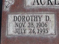 Dorothy Dale <i>Emmons</i> Ackerland