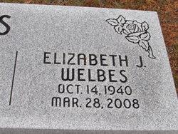 Elizabeth Jean Betty <i>Hollis</i> Welbes