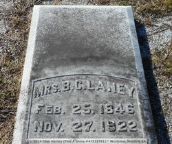 Mrs Mary A. Mollie Laney