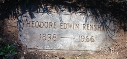 Theodore Edwin Renshaw
