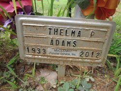 Thelma Parrish Adams