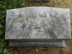 Young Leonard Watson, Jr