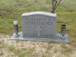 Elizabeth B <i>Brewer</i> Roubideaux