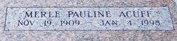 Merle Pauline <i>Willoughby</i> Acuff