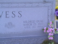 Mildred <i>Duke</i> Vess