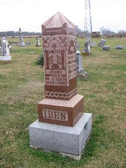 Orlinda Jane Jennie <i>Boone</i> Iden