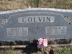 Mary E Colvin