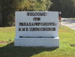 Pleasant Grove Ame Zion Church Cemetery