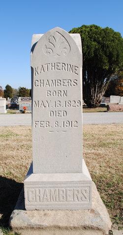 Katherine <i>Hendricks</i> Chambers