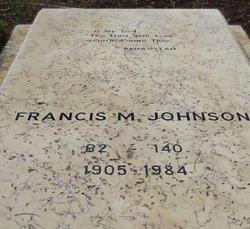 Francis M Johnson