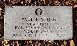 Pvt Paul F. Scheg
