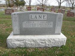 Mary E <i>Sterling</i> Lane