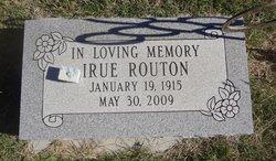 Irue Jaques <i>Hampton</i> Routon