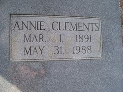 Annie <i>Clements</i> Brewer