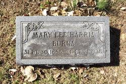 Mary Lee <i>Harris</i> Burns