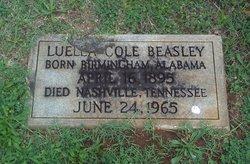 Luella <i>Cole</i> Beasley