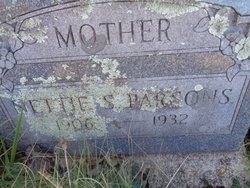 Nettie Susan <i>Mongold</i> Parsons