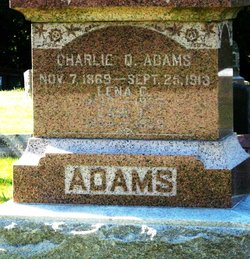 Lena C. <i>Johnson</i> Adams