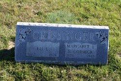 Margaret Lee Maggie <i>McCormick</i> Crissinger