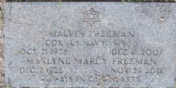 Marlyne Marcy <i>Horwitz</i> Freeman