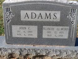 Blanche <i>Allmond</i> Adams