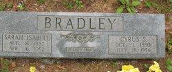Sarah Isabelle <i>Bray</i> Bradley