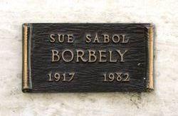 Sue <i>Sabol</i> Borbely