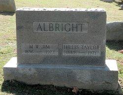 M W Albright