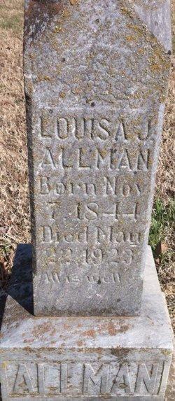 Louisa Jane <i>Deason</i> Allman
