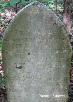 Mrs Savannah S. A. Vanney <i>Bufford</i> Bedell