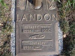 Everett Lee Pete Landon