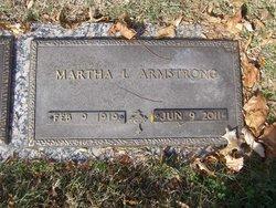 Martha L. <i>Busch</i> Armstrong