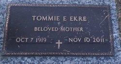 Tommie Elizabeth <i>Parks</i> Ekre