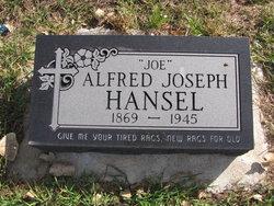Alfred Joseph Joe Hansel