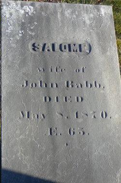 Salome <i>Rand</i> Babb
