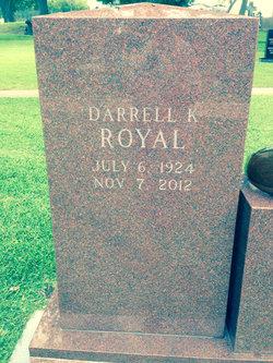 Darrell K. Royal
