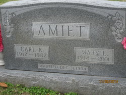 Mary Louise <i>Dodson</i> Amiet