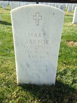 Mary <i>Jarboe</i> Calhoun