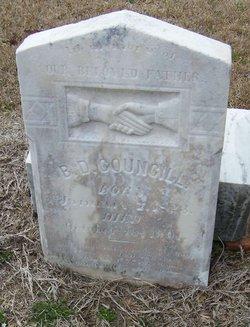Benjamin D Councill