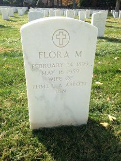 Flora M Abbott