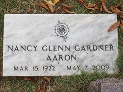 Nancy Glenn <i>Gardner</i> Aaron
