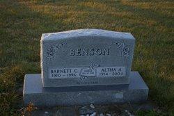 Altha Adeline <i>Holthusen</i> Benson
