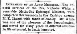 Rev Nicholas White