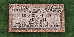 Lula May <i>Overturf</i> Ragsdale