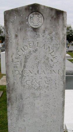 Pvt ALCIDE Landry