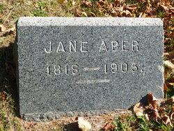 Jane <i>Stewart</i> Aber