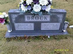 Martha A. <i>Chandler</i> Brock