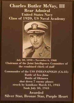 Capt Charles Butler McVay, III