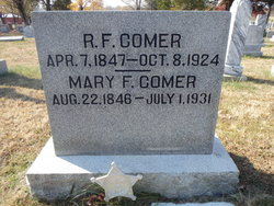 Mary Francis <i>Harlin</i> Comer